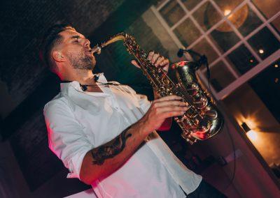 Saxofonist bruiloft