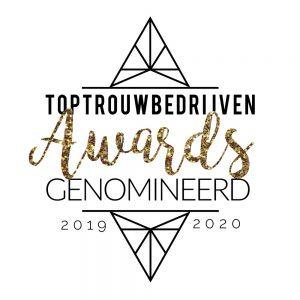 Nominatie Top Trouwbedrijven