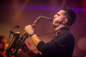 DJ met saxofonist Utrecht